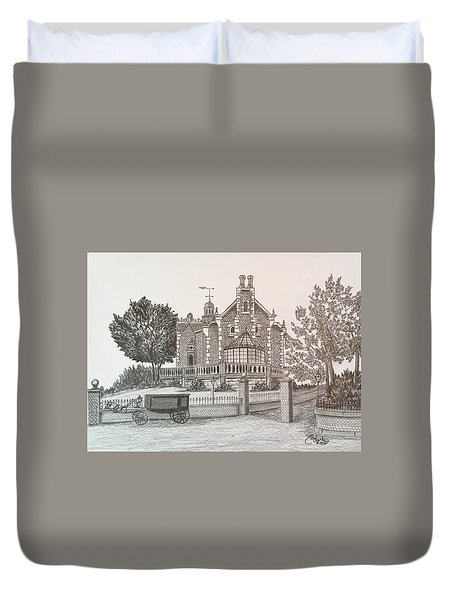 Haunted Mansion  Duvet Cover