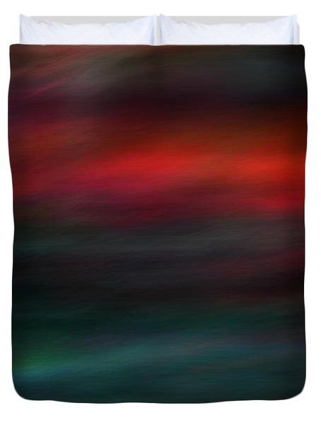 Haunted Duvet Cover by Robin Dickinson