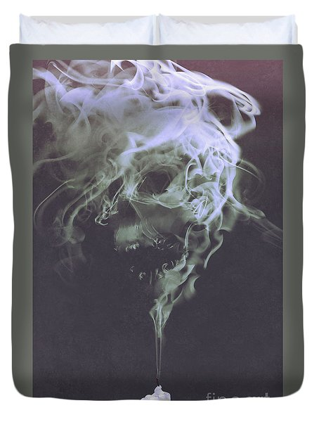 Haunted Smoke  Duvet Cover