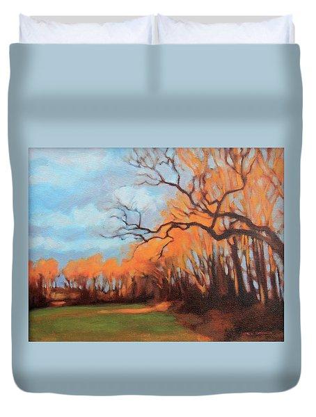 Haunting Glow Duvet Cover by Andrew Danielsen