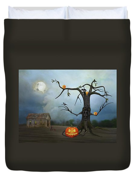 Haunting Duvet Cover by Mary Timman