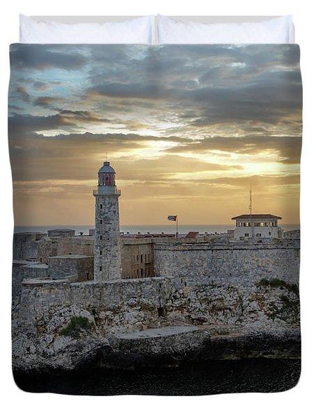 Havana Castillo 2 Duvet Cover