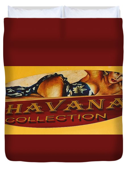 Havana Collection Duvet Cover