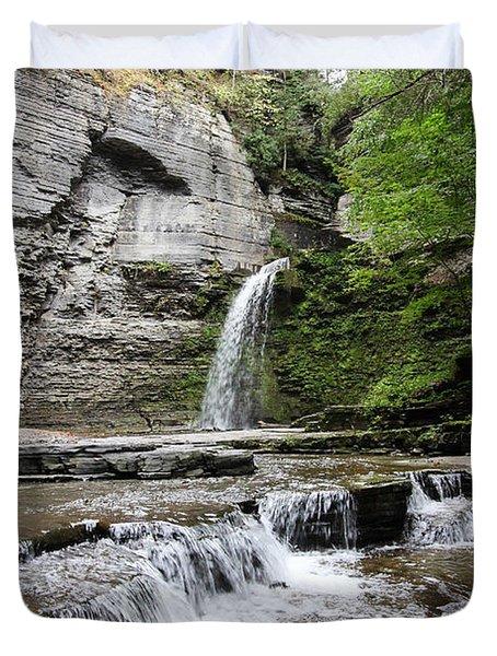 Eagle Cliff Falls II Duvet Cover
