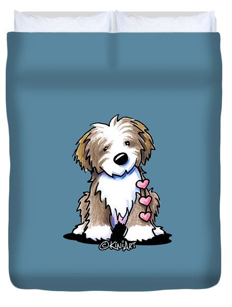 Havanese Heartstrings Duvet Cover
