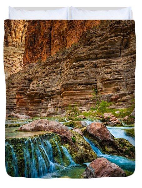 Havasu Creek Cascade Duvet Cover