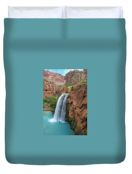 Havasu Falls Grand Canyon Duvet Cover