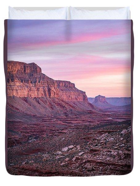 Havasupai Desert Sunrise Duvet Cover