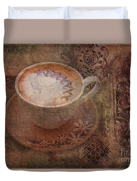 Have A Cuppa 2015 Duvet Cover