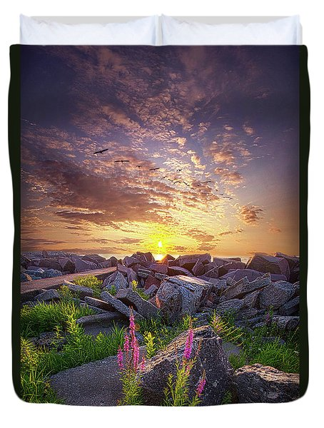 Duvet Cover featuring the photograph Have Faith by Phil Koch