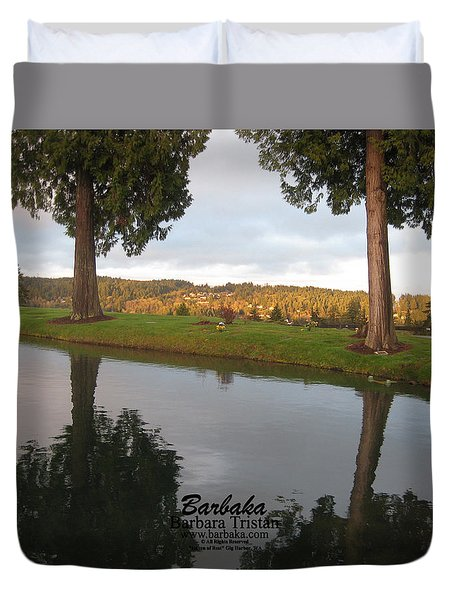 Haven Of Rest Duvet Cover by Barbara Tristan