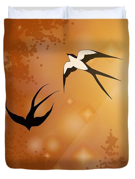 Haven Song Duvet Cover