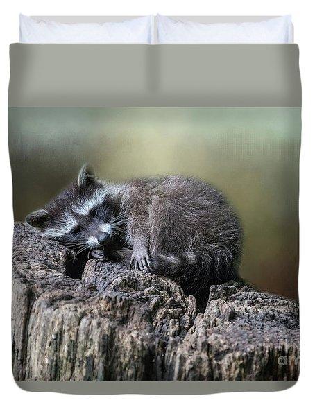 Having A Rest Duvet Cover