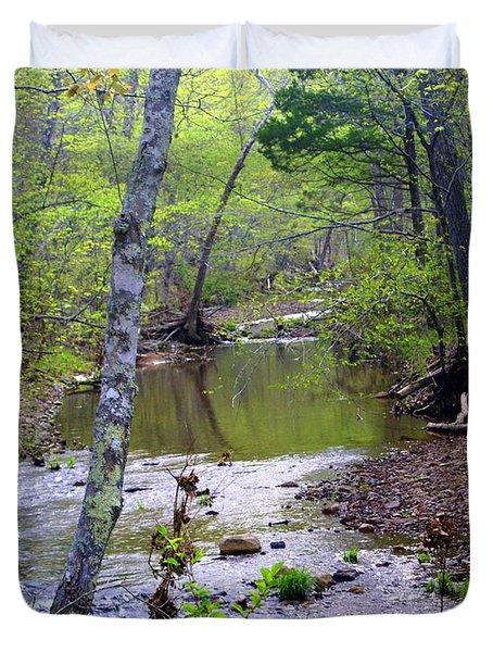 Haw Creek Duvet Cover by Marty Koch