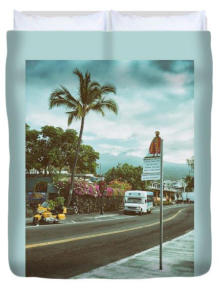 Hawaii Ironman Start Point  Duvet Cover