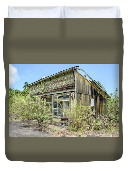 Hawaii Of Yesteryear Duvet Cover