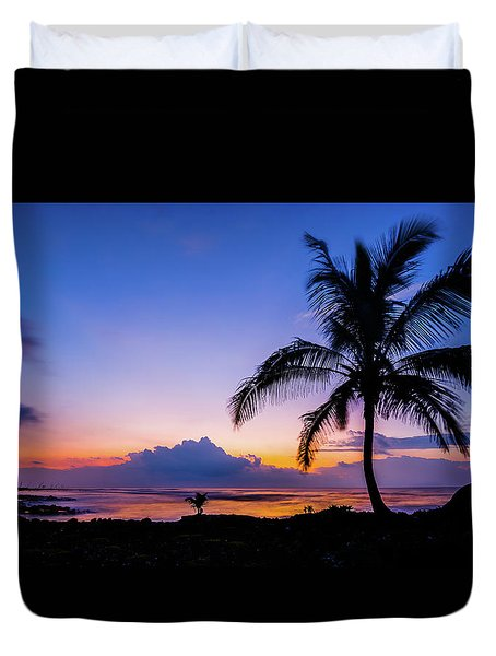 Hawaiian Dawn Colors Duvet Cover