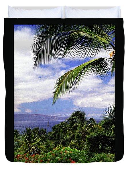 Hawaiian Fantasy Duvet Cover