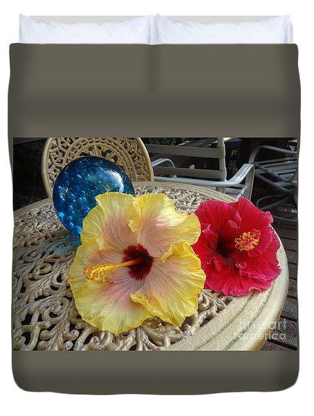 Hawaiian Lovelies Duvet Cover