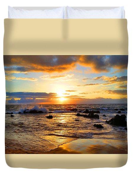 Hawaiian Paradise Duvet Cover