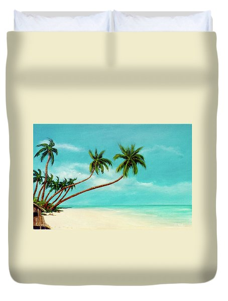 Hawaiian Prime Real Estate  #284 Duvet Cover by Donald k Hall