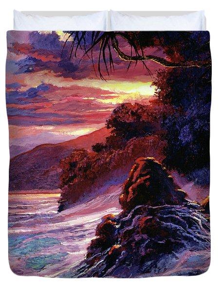 Hawaiian Sunset - Kauai Duvet Cover