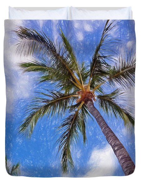 Hawaiian Vacation #4 Duvet Cover