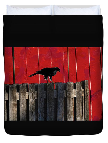 Hawk Duvet Cover by Don Gradner