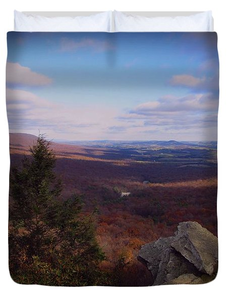 Hawk Mountain Sanctuary Duvet Cover