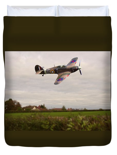 Hawker Hurricane -1 Duvet Cover