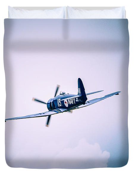 Hawker Sea Fury Fb11 Duvet Cover