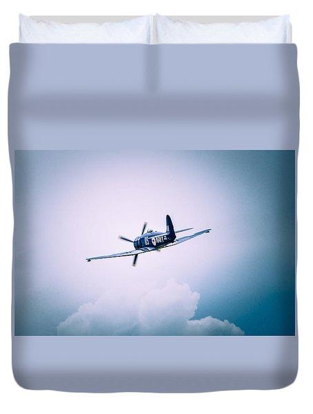Hawker Sea Fury Fb11 Duvet Cover