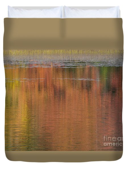 Hawkins Autumn Abstract 2015 Duvet Cover