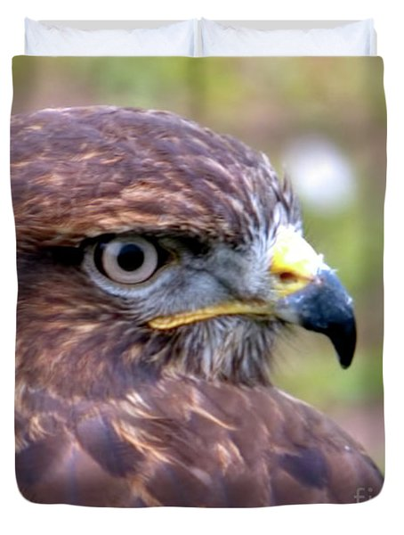 Hawks Eye View Duvet Cover