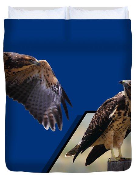 Hawks Duvet Cover