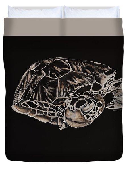 Hawksbill Turtle Duvet Cover