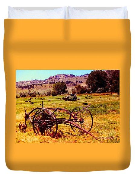 Golden Harvest Duvet Cover
