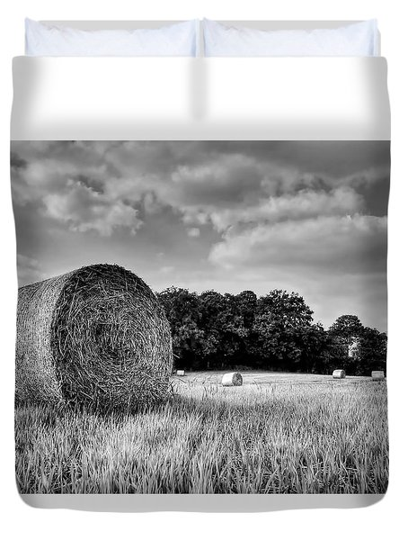 Hay Race Track Duvet Cover