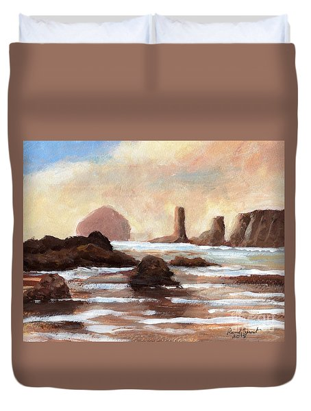Hay Stack Reef Duvet Cover