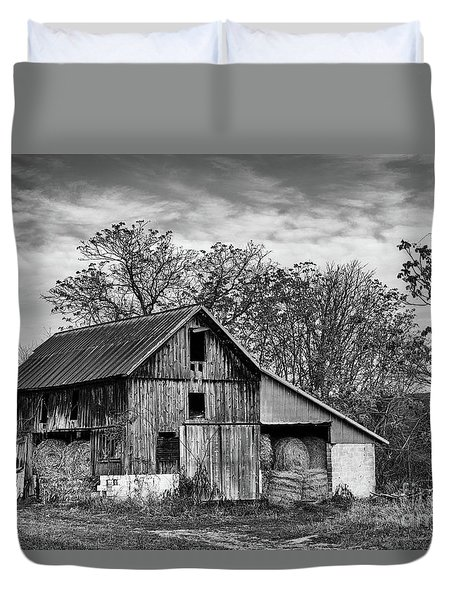 Hay Storage Duvet Cover