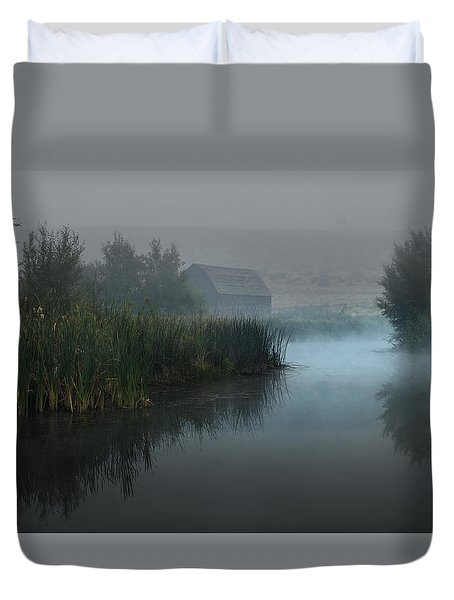 Haynes Ranch Predawn II Duvet Cover