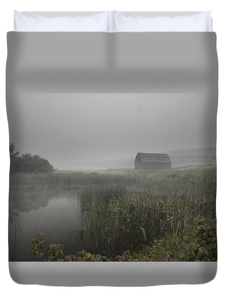 Haynes Ranch Predawn Duvet Cover