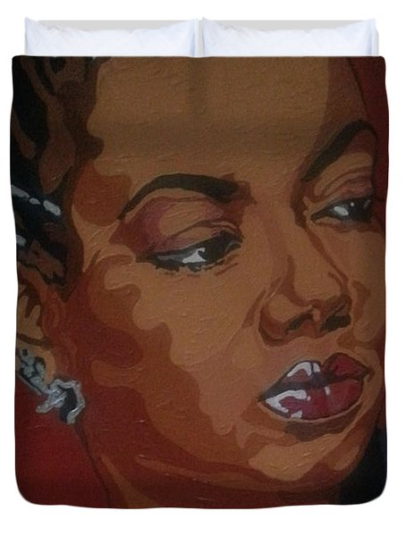 Hazel Scott Duvet Cover