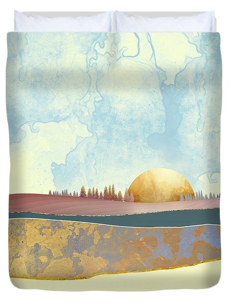 Hazy Afternoon Duvet Cover