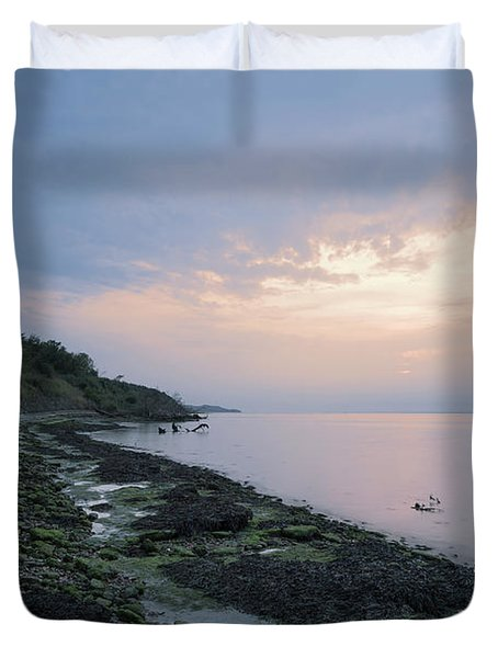 Hazy Sunset Duvet Cover