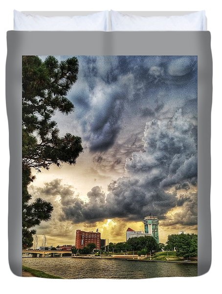 Hdr Ict Thunder Duvet Cover