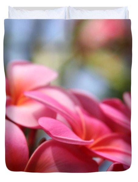 He Pua Lahaole Ulu Wehi Aloha Duvet Cover by Sharon Mau