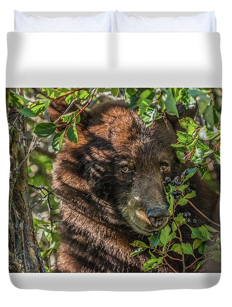 He Was Hiding In A Tree Duvet Cover