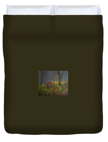 He Who Holds The Key Duvet Cover