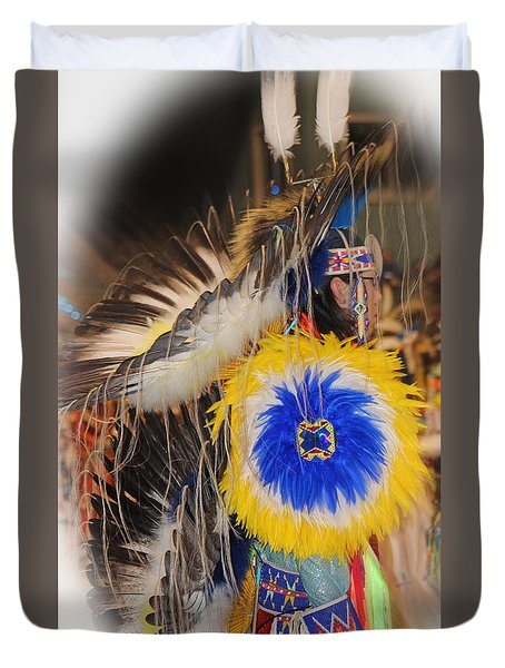 Head Dress Duvet Cover